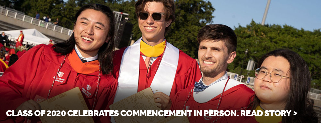 Class of 2020 Celebrates Commencement in Person. Read story